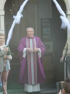 Pater Luk 20 jaar kapelaan